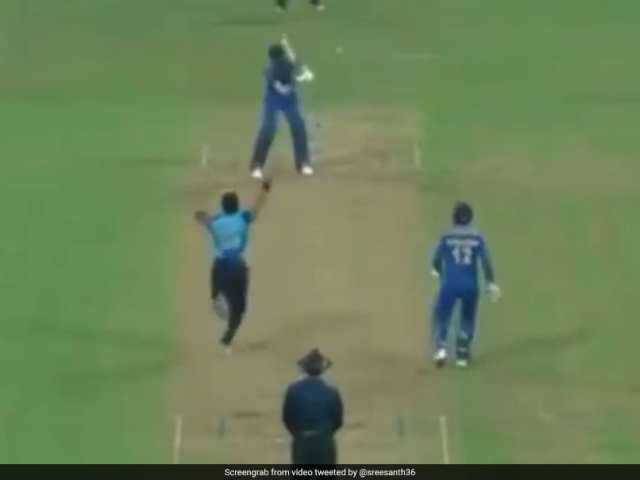Sreesanth Bowls Out Batsman On Return To Competitive Cricket. Watch