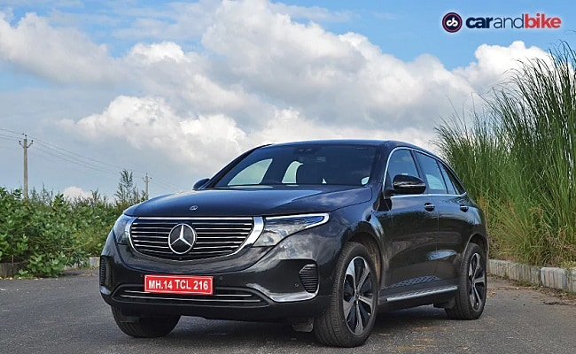 The Mercedes-Benz EQC was launched in India last year.
