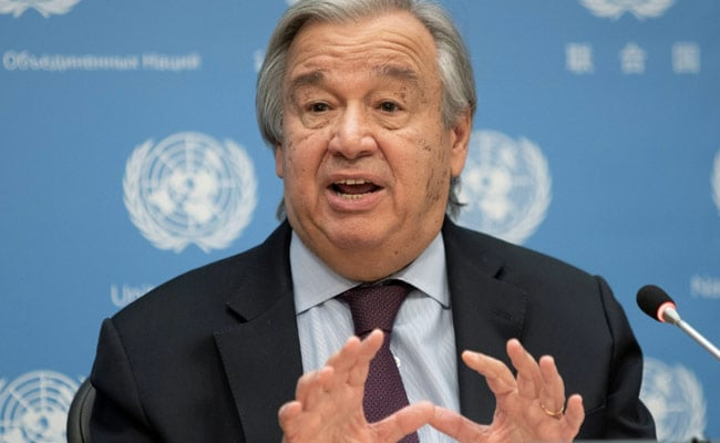 UN Chief 'Deeply Disturbed' By Israel Strike On Gaza Media Building