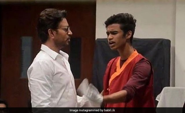 Here's When Irrfan Khan's Son Babil Will Make His Acting Debut