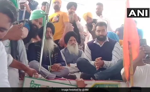 Red Fort Violence Accused Seen At Rally In Amarinder Singh's Village