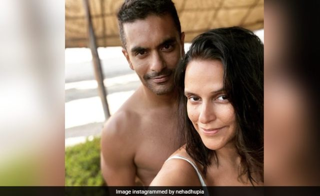 To Birthday Boy Angad Bedi, With Love From Neha Dhupia