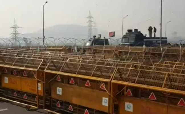 Concertina Wire, Barricades And Buses - Situation At The Ghazipur Border
