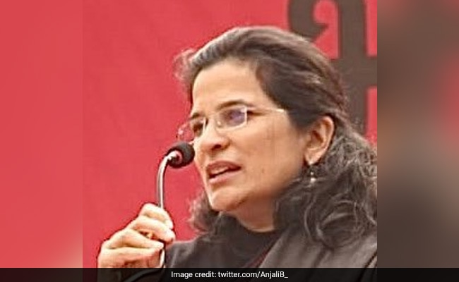 US Honours Activist Anjali Bharadwaj For Her Work On Combating Corruption