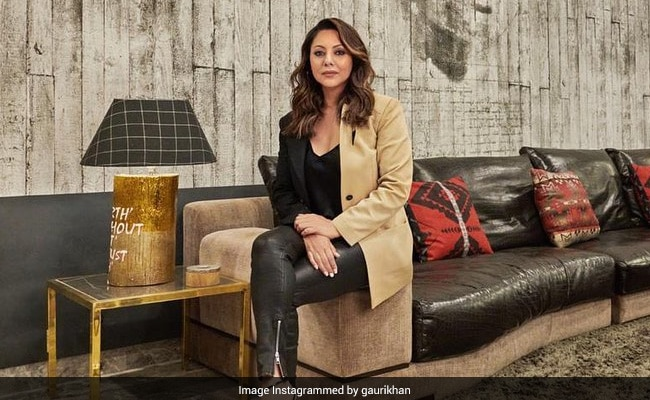 Step Inside Shah Rukh Khan's Workspace, Designed By Gauri Khan