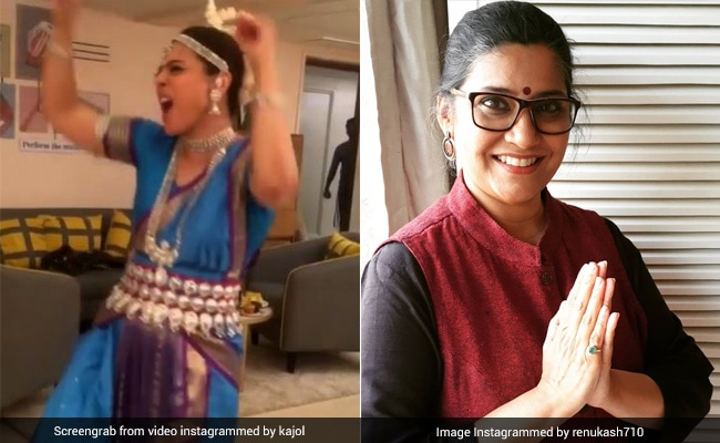 On Kajol's Dance Video, Tribhanga Director Renuka Shahane Dropped This Comment
