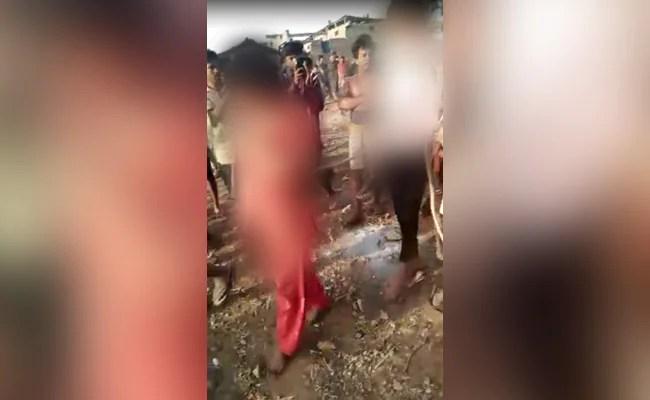 Rape Survivor Tied, Paraded With Her Attacker In Madhya Pradesh Shocker