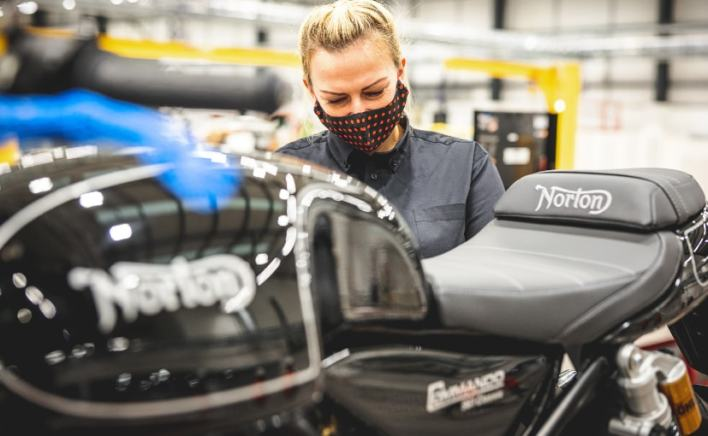 Norton Motorcycles has moved to a new production and corporate headquarters