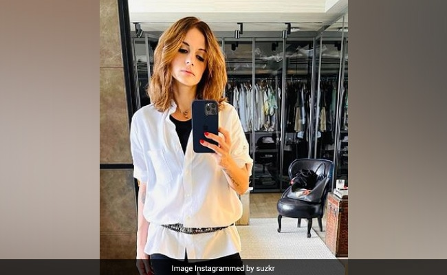 What Hrithik Roshan Commented On Ex-Wife Sussanne Khan's 'I Think Am A Boy' Post