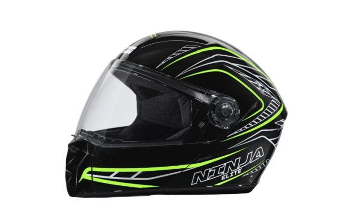 The Studds Ninja Elite Super D5 Decor helmet is priced at Rs. 1,595