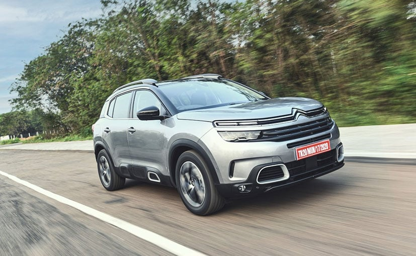 The 2021 Citroen C5 Aircross SUV comes in two variants- Feel and Shine
