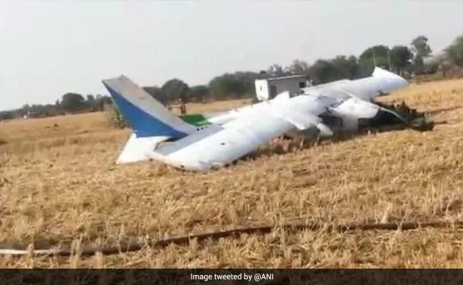 3 Pilots Injured After Small Plane Crashes In Madhya Pradesh
