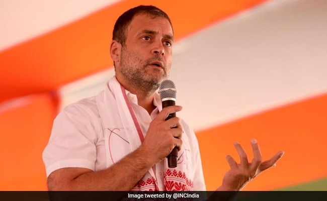 Assam Election 2021: CAA An Attack On Assam's Culture, Won't Allow  Implementation: Rahul Gandhi