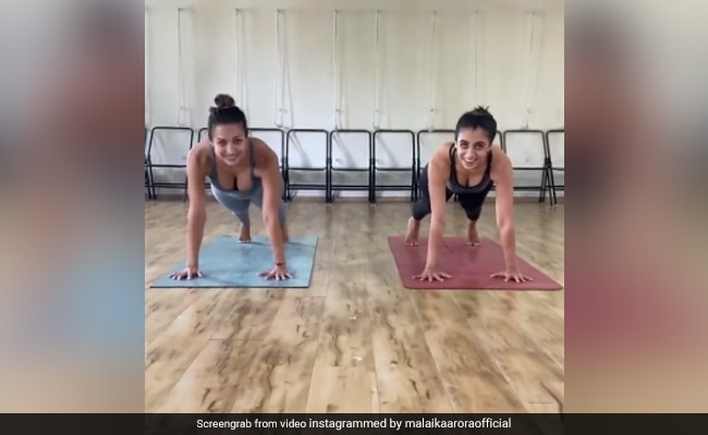 'Did Somebody Say Planks Aren't Fun?' Malaika Arora's Post Will Make You Rethink