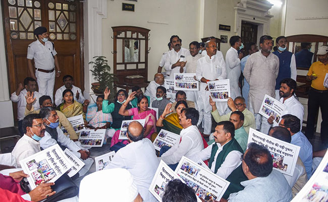 Chaos In Bihar Assembly As New Bill Aims To Give More Power To Police