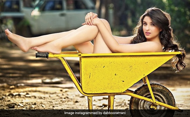 For That Perfect Shot, 'Hitch Your Wagon To A Star.' In This Case, Parineeti Chopra