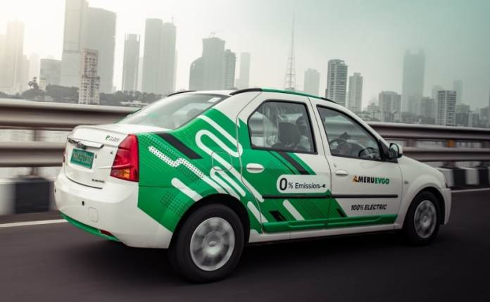 Mahindra and Mahindra has now acquired 100 per cent of Meru Cabs