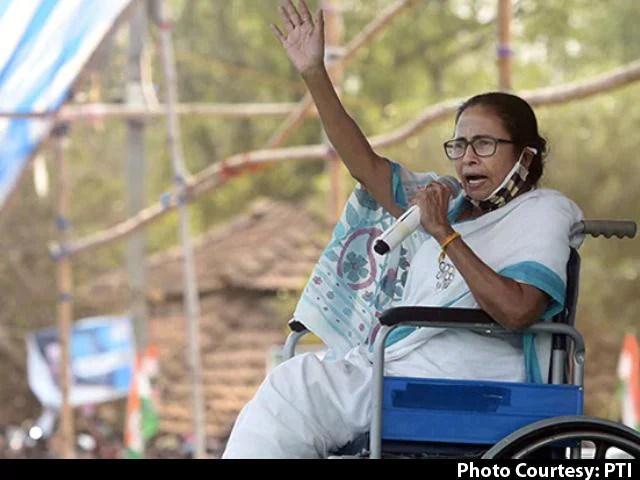 Assembly Election 2021 | Amit Shah Responsible, Says Mamata Banerjee On Bengal  Poll Violence