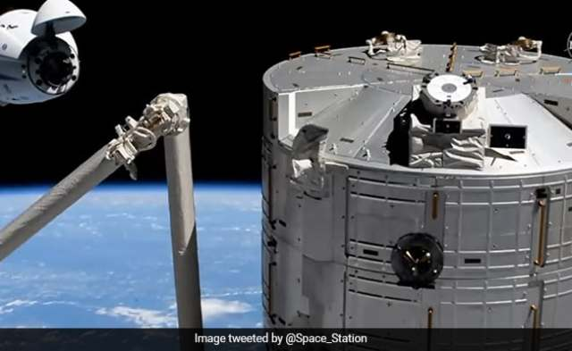 Recycled Spacex Crew Dragon Brings New Crew To ISS