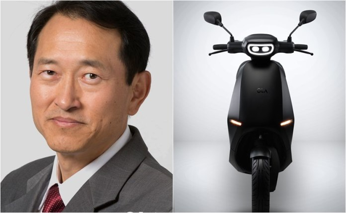 YS Kim will lead both the domestic and global strategy for sales and go-to-market for Ola Electric