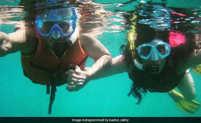 Waheeda Rehman, 83, Goes Snorkeling - See Her Daughter's Post