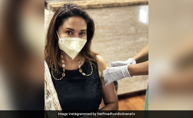 Madhuri Dixit Receives Her Second Shot Of COVID-19 Vaccine. See What She Posted