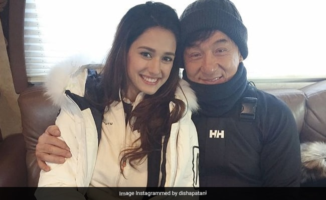 What Disha Patani Posted On Jackie Chan's Birthday
