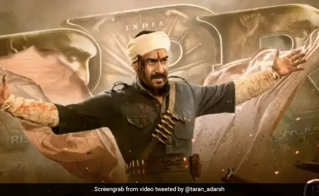 RRR: Ajay Devgn Is The Master Of 'Strength' In First Look