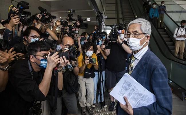 Hong Kong's 'Father Of Democracy' Among Activists Facing Jail