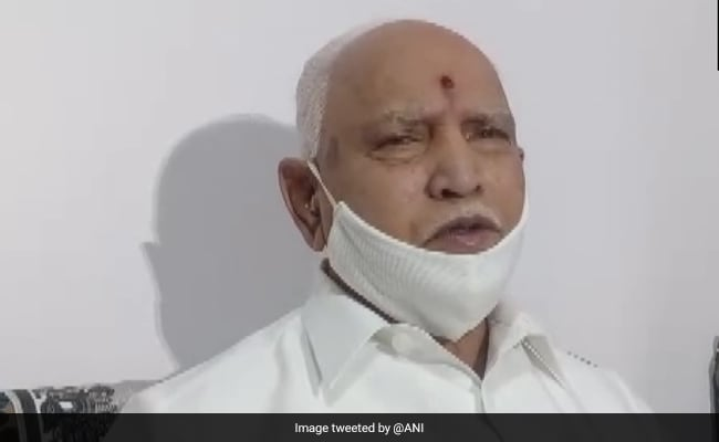 BS Yediyurappa Tests Positive, Second Time In Months, Hospitalised
