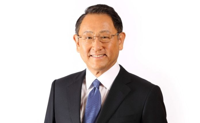 Akio toyoda - president toyota motor corporation is the 2021 world car person of the year