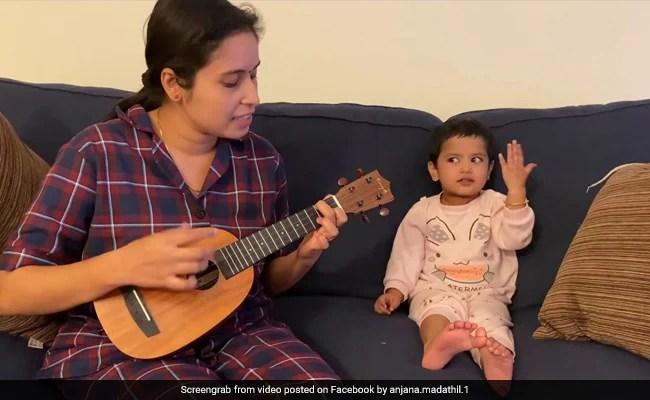 Watch: Toddler Joins Mom In Singing 'Agar Tum Saath Ho'. Smiles Guaranteed