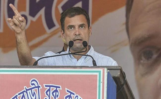 'Suspending All My Public Rallies': Rahul Gandhi Amid Bengal Covid Surge
