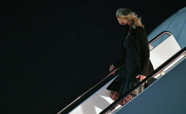 'April Fool's': Jill Biden Pranks Staff, Disguised As Flight Attendant