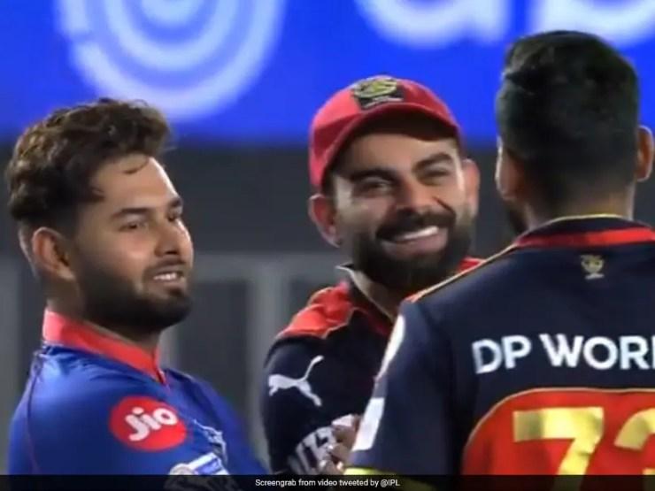 IPL 2021: Virat Kohli, Rishabh Pant Share Light Moment After Last-Ball Thriller In Ahmedabad. Watch