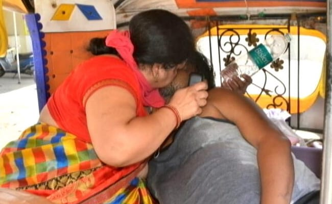 Amid Cries For Oxygen, Agra Woman's Desperate CPR Attempt On Husband