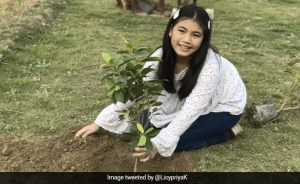 Climate Operator Licypriya Kangujam Says Every Day Is Earth Day For Me