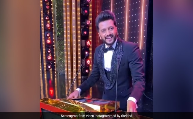 Filmfare Awards 2021: Riteish Deshmukh's ROFL Acceptance Speech For 'Not Being Nominated'