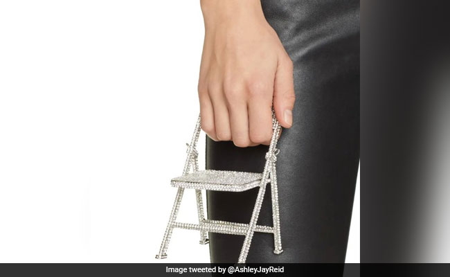 Viral: This Bedazzled Folding Chair Is Actually A Bag Worth Rs 66,000