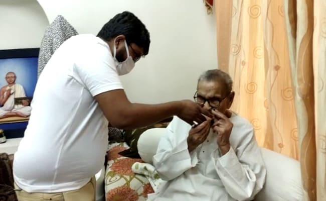 'Stay Positive': 104-Year-Old In Madhya Pradesh Beats Covid
