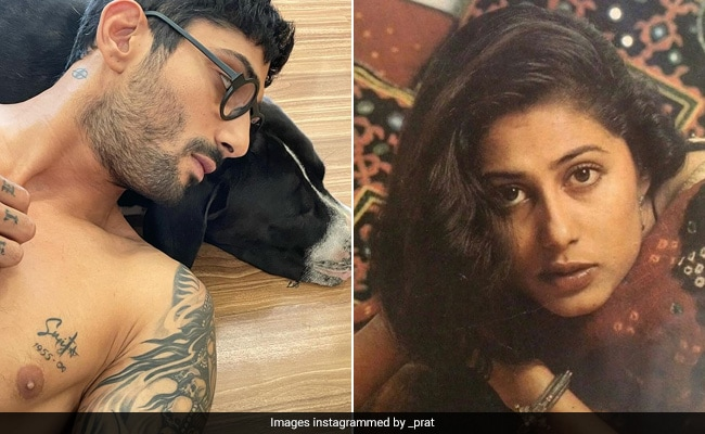 Prateik Babbar Gets Mother Smita Patil's Name Tattooed 'On His Heart.' See Trending Pic