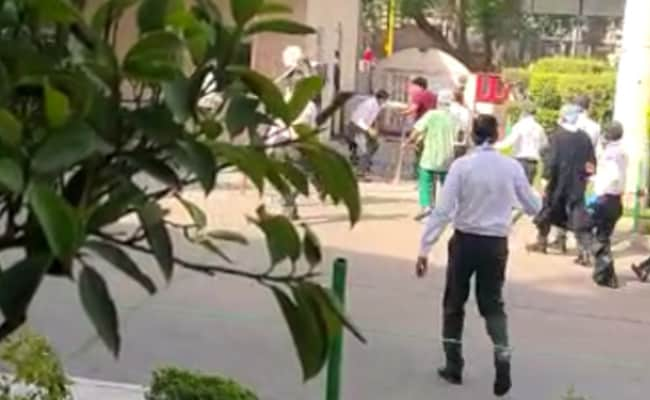 On Camera, Doctors Attacked After Covid Patient Dies At Delhi Hospital