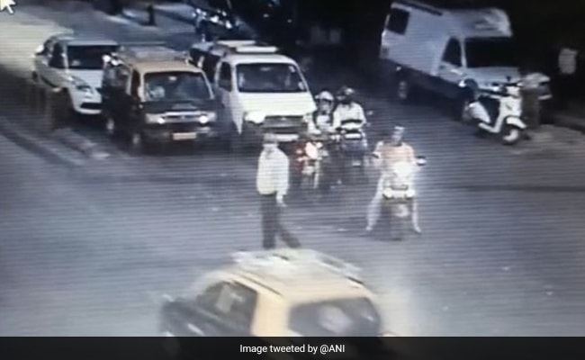 Mumbai Cop Taken To Station To Recreate Scene From CCTV In Murder Probe