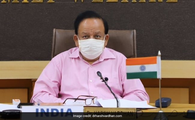 'Hue And Cry By Certain States...': Harsh Vardhan On Vaccine Divide Charge