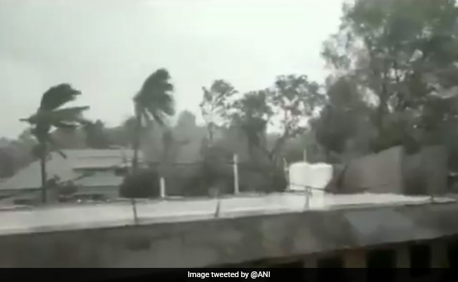 Ahead Of Cyclone Yaas Landfall, Odisha And West Bengal Experience Rainfall. See Pics