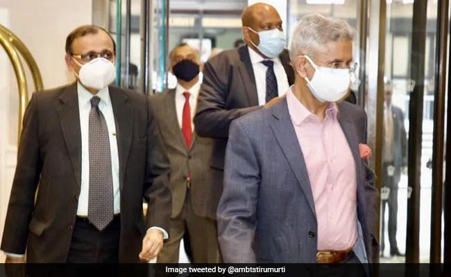 एस जयशंकर ने अमेरिकी सांसदों से मुलाकात की, क्वाड पर चर्चा की, टीकों पर सहयोग