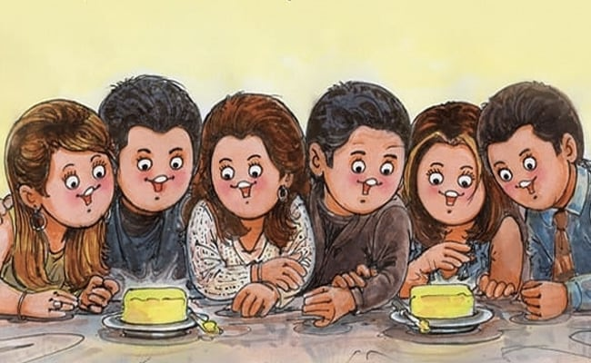 The One Where Amul Gives The F.R.I.E.N.D.S Reunion The Utterly Butterly Treatment