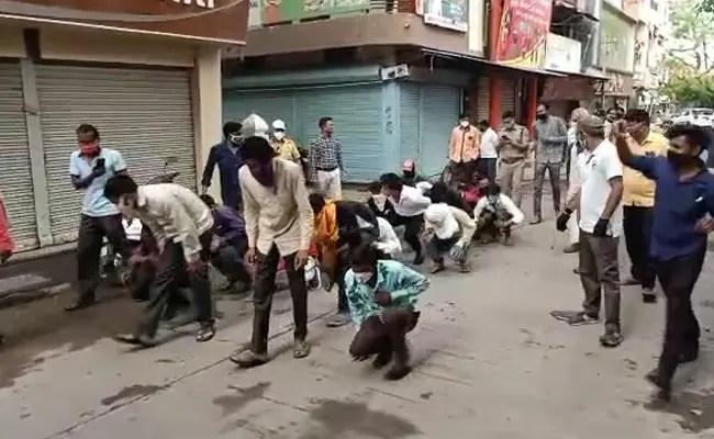 इंदौर में, आधिकारिक तौर पर मास्क डिफॉल्टर्स बैकफायर के लिए सामूहिक सजा