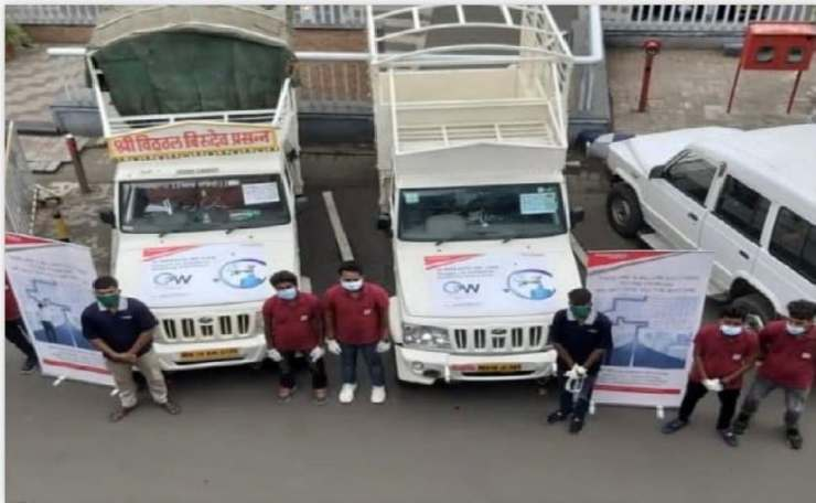 Mahindra has started with the 'Oxygen on Wheels' Project in Maharashtra.