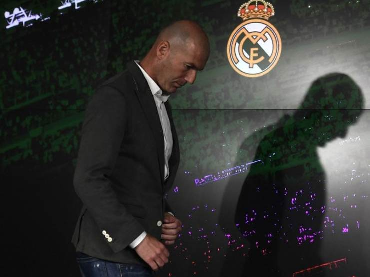 Zinedine Zidane Says Quit Real Madrid Because Of Clubs Lack Of